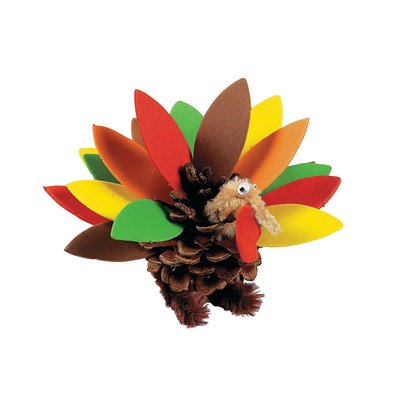 Thanksgiving Turkey Crafts Kit