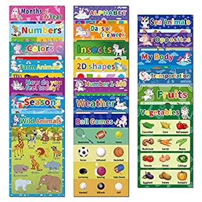 20 Educational Preschool Posters