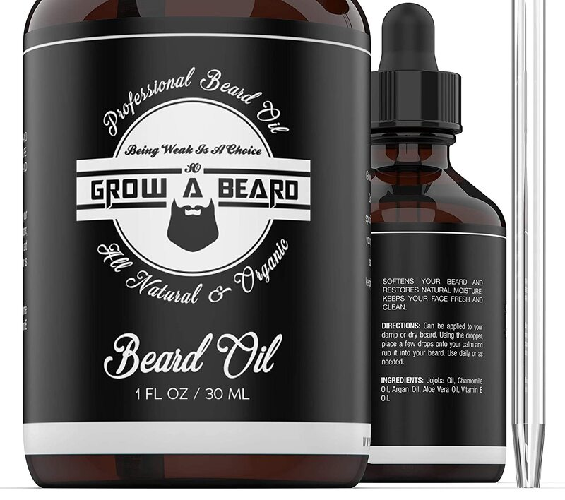 Beard Oil For Men Unscented