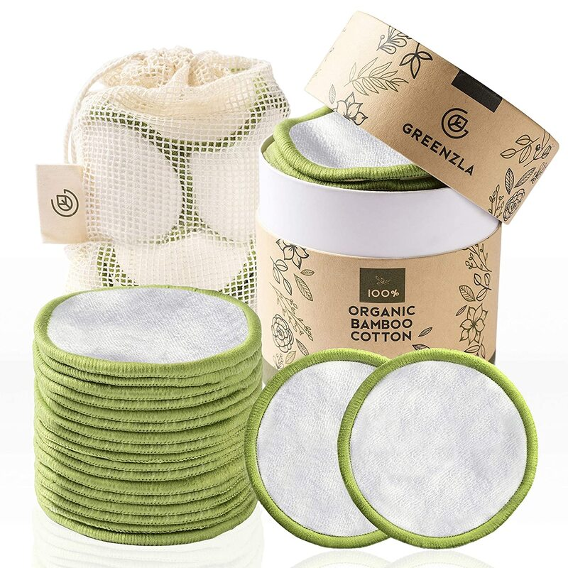 reusable makeup pads with laundry bag