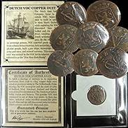 Shipwreck Coins for Sale